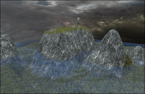 Adding water and terrain with skydome