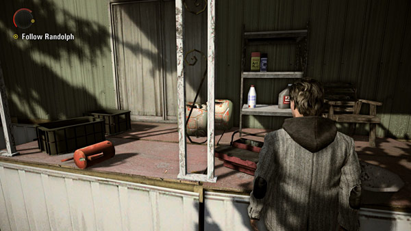 Looking at prop placement in Alan Wake