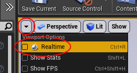 Disable real-time