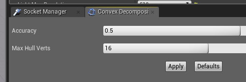 Using Convex Decomposition