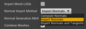Normal Import Method