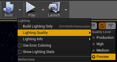 Lighting Quality Build Preview
