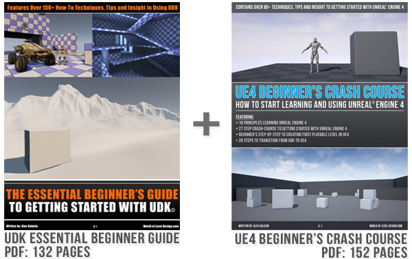 Subscribe and Get 2 Free PDF Guides UDK and UE4