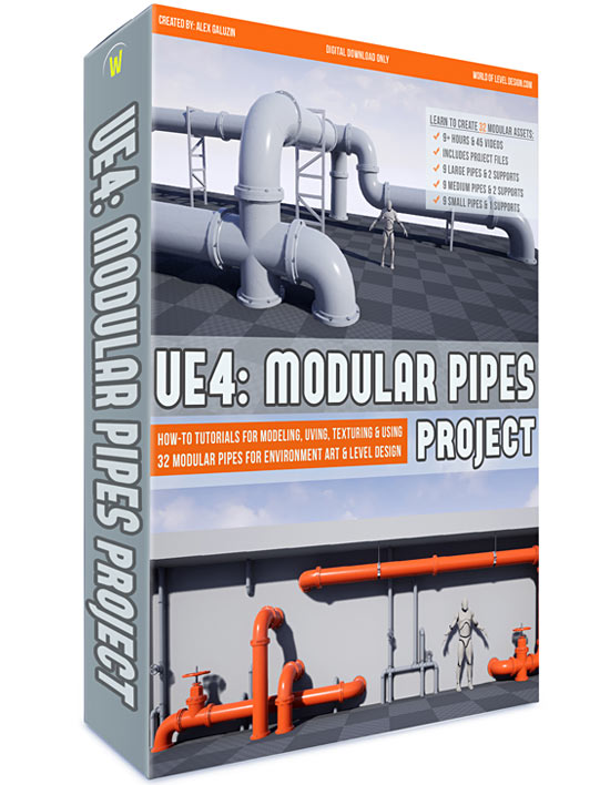 UE4: Modular Pipes Project